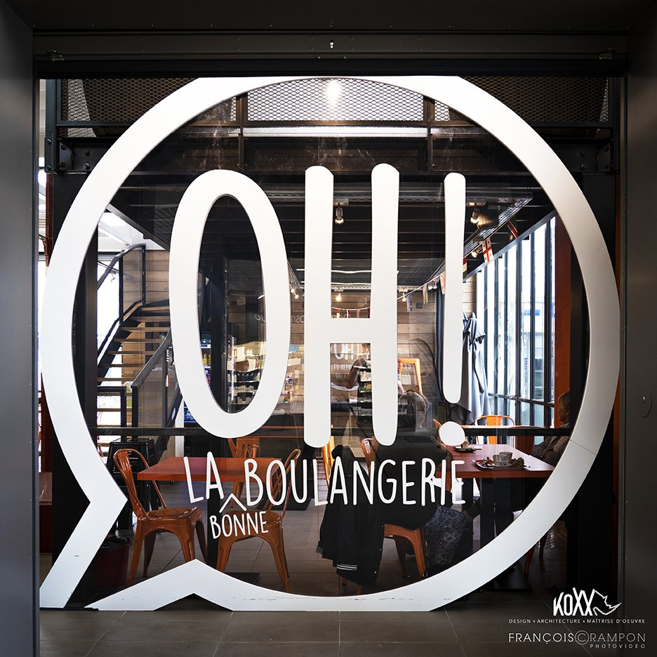 Maitre D Oeuvre Cholet oh ! la boulangerie - koxx | design, architecture & maîtrise