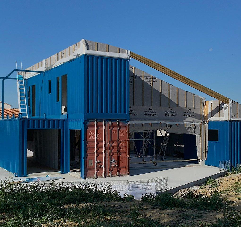 Maison Container Koxx Design Architecture Maitrise D œuvre A Nantes Angers Cholet